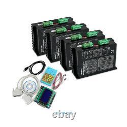 CNC Kit 4 Axis Professional EMA2-080A72 Stepper Drivers Nema 34, Nema 42