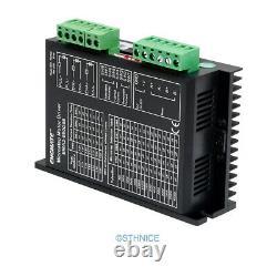 CNC Kit 4 Axis Standard Breakout Board & Stepper Drivers Nema 23, Nema 34