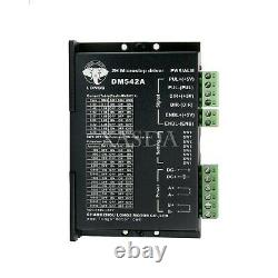 CNC Kit 4Axis Nema 23 Stepper Motor Stepping Motor for CNC Router WithDrive xa80