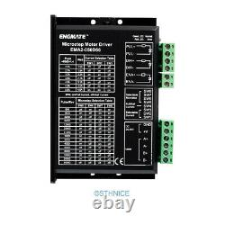 CNC Kit 5 Axis Controller Board & ENGMATE Stepper Motor Driver EMA2-050D56