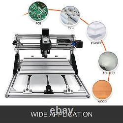 CNC Router/Engraver Kit 3018 For Wood PVC Injection Moulding Material 3 Axis
