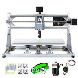 CNC3018 2in1 CNC Router Kit Laser Engraver Carving Machine GRBL Control 3 Axis