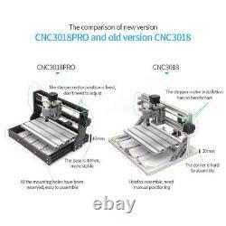 CNC3018 PRO 5500mw DIY CNC Router Kit Engraving Machine GRBL Control 3Axis I9X8