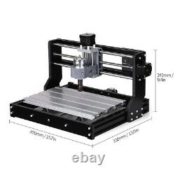 CNC3018 PRO DIY CNC Router Kit Engraving Machine GRBL Control 3Axis Wood Carving