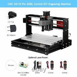 Cnc 3018 Pro Diy Mini Cnc Router Grbl Control 3 Axis Pcb Milling Machine Laser