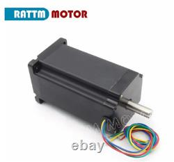 DE 4-Axis Electric CNC Kit Nema34 1600oz Stepper Motor Driver Mach3 Router Kit