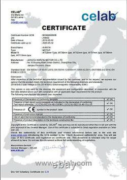DE shipwantai CNC Kit 4Axis Nema23 Motor 425oz-in dual shaft&Driver 4.2A&Power