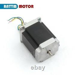 DE4 Axis CNC Controller Kit Nema 23 Stepper Motor 270oz-in 3A & TB6560 Driver