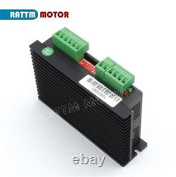 DE4 Axis LPT Mach3 Controller CNC Kit NEMA 23 Stepper Motor Driver 425oz. In 3A