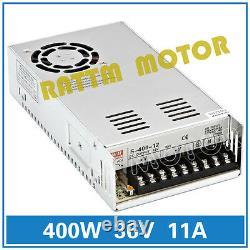 DE4 Axis USB CNC Controller Kit NEMA23 Dual shaft Stepper Motor 425oz 4A Driver