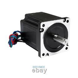 DIY CNC Kit 3 Axis 6.8N. M Nema34 Motor 2.4A-7.2A EMA2-080D72 Drivers 60V 20A PSU