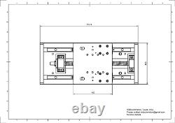 DIY CNC PLASMA Z Axis Linear Slide Kit 5 Travel FLOATING HEAD, US MADE