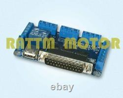 Dual shaft 4Axis Stepper Motor Driver NEMA23 CNC Kit 2.8Nm 425oz. In+ 5Axis Board