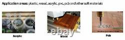 ES CNC 3018 DIY CNC Router Kit Laser Engraving Machine 3 Axis GRBL Control PVC