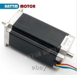 ES3 Axis Nema23 Dual Shaft Stepper Motor 425oz 112mm 3A +CW5045 Driver CNC Kit