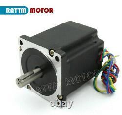 EU 4 Axis Nema34 878Oz-in Stepper Motor Driver Mach3 CNC Router Controller Kit