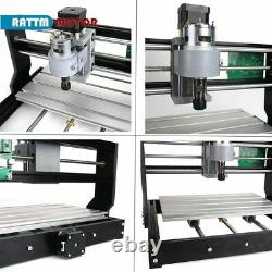 EU CNC3018 PRO DIY 3Axis CNC Router Kit Engraving Machine GRBL PCB Wood Carving