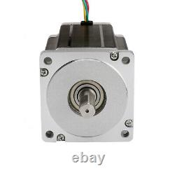 EU Free Shipnema 34 stepper motor 1090 oz-in and drivers&power 3 axis cnc kit