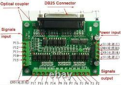 EU Ship 4axis Nema23 stepper motor dual shaft 425oz-in & Drivers DM542A CNC kit