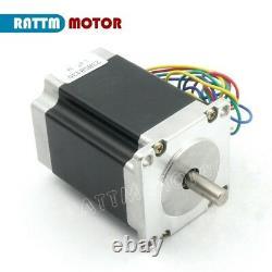 EU ship3 Axis Nema23 CNC Controller Kit Stepper Motor 270oz 76mm+CW5045 Driver