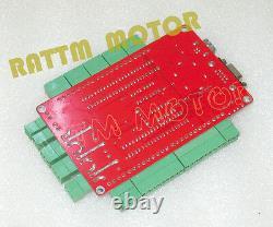 EU3 Axis Nema23 112mm Dual Shaft 425oz-in CNC Stepper Motor&Driver USBCNC Kit