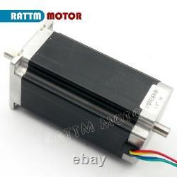 EU3 Axis USBCNC CNC Controller Kit Nema 23 Dual Shaft 425oz-in Kit & Driver