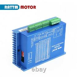 EU4 Axis CNC Controller Kit NEMA 34 8N. M Closed Loop Servo Stepper Motor Driver