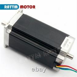 EU4 Axis Nema 23 Stepper Motor Driver 425oz-in 112mm&Power USB CNC Control Kit