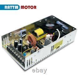EU4 Axis Nema23 76mm Stepper Motor 1.8° Dual Shaft+TB6560 MD430 CNC Driver Kit