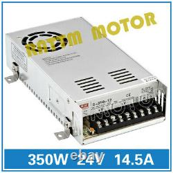 FROM EU 4 Axis NEMA 23 CNC Kit Stepper Motor 270oz-in 76mm +MD430 Driver Board