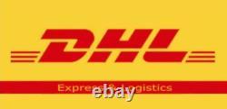 FedEx /DHL1 Axis Nema 34 Stepper Motor Dual Shaft 928oz-in CNC Stepper Kit +Powe