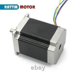 GB3 Axis USB Mach3 CNC Router Kit Nema 23 Stepper Motor Driver 3A 270Oz. In 24V