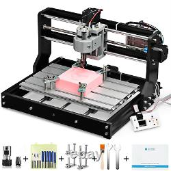 Genmitsu CNC 3018-PRO Router Kit 3 Axis Plastic Acrylic PCB PVC Wood