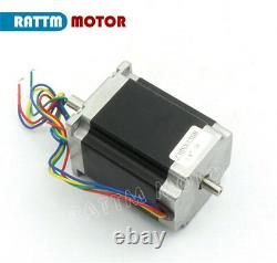 Ger3 Axis CNC Kit Nema 23 76mm Stepper Motor 270oz-in, 3A MD430 Driver Board
