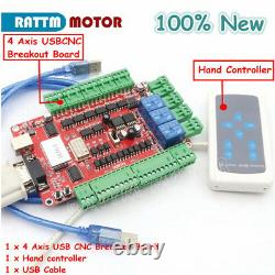 IT4Axis USB CNC Router Milling Kit Nema 23 Stepper Motor Driver 425oz. In 112mm