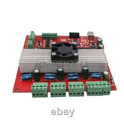MACH3 CNC 4-Axis Kit (Stepper Motor Controller+4pcs Stepper Motor+Power Supply)