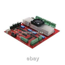 MACH3 CNC 4-Axis Kit TB6560 Stepper Motor Controller + Nema23 Stepper Motor 57