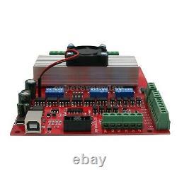 MACH3 USB 3-Axis CNC Kit Stepper Motor Driver Board+3pcs Stepper Motor57+Power