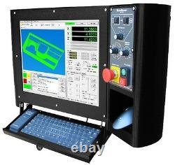 MachMotion 3 Axis CNC Milling Machine Control Retrofit Kit With AC Servos