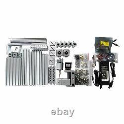 Mini 3 Axis DIY CNC 1610+ Router Kit Engraver Milling Machine+ER11+2500mW Laser