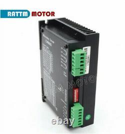Nema34 12Nm Stepper Motor Driver Mach3 Breakout Board 4 Axis CNC Controller Kit