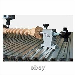 Next Wave 20024 Mini 4th Axis Kit for CNC Router do spindles pens game pieces