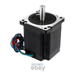 Pro ENGMATE 5 Axis CNC Kit Nema34 6.8N. M Stepper Motor 2.4A-7.2A Stepper Driver
