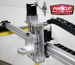 ProCutCNC LT4800G 4'x8' Lite CNC Gantry Router or Plasma Kit, Soft Touch Z Axis