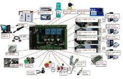 Schrittmotor 4 Axis CNC Controller Kit NEMA 34 878Oz-in Stepper Motor DriverDE