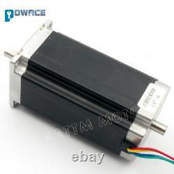 UK4 Axis USB CNC Controller Kit Nema23 425oz-in Stepper Motor 112mm & Drivers