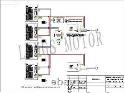 US Free ship 4Axis Nema23 Stepper Motor 435oz. In 4.2A 3.4V Driver DM542A CNC Kit