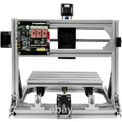VEVOR 3 Axis 2418 CNC Router Kit with Offline Controller USB Engraver Wood PVC