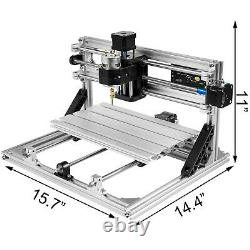 VEVOR 3 Axis 3018 CNC Router Kit withOffline Controller Engraving Tool USB Port