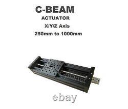 Z-axis Kit Cnc Router Plasma Black C-beam Actuator Cnc Diy Kit Uk Seller